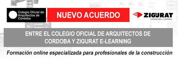 Convenio entre el Colegio Oficial de Arquitectos de Cordoba y Zigurat