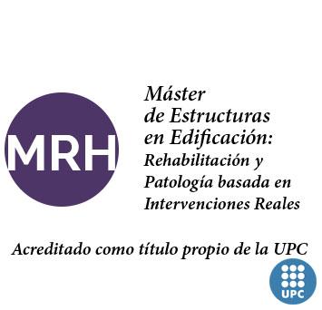 Máster de Rehabilitación y Patología de Estructuras